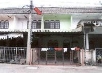 ทาวน์เฮ้าส์หลุดจำนอง ธ.ธนาคารอาคารสงเคราะห์ กาญจนบุรี เมืองกาญจนบุรี บ้านใต้