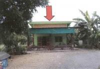 บ้านเดี่ยวหลุดจำนอง ธ.ธนาคารอาคารสงเคราะห์ กาญจนบุรี ห้วยกระเจา สระลงเรือ